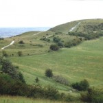 Ivinghoe Beacon, the start of the Ridgeway and the Extreme Druid Challenge